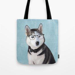 Mr Husky Tote Bag