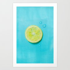 Summer fresh Art Print
