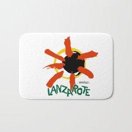 Lanzarote logo Bath Mat