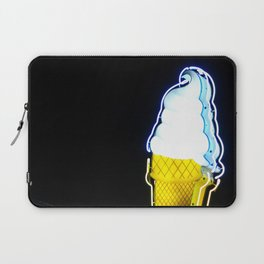 Ice Cream Cone Neon Sign Laptop Sleeve