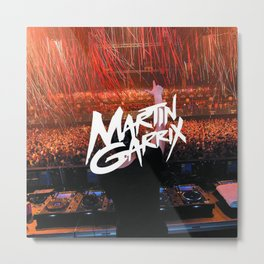 Martin Garrix Metal Print