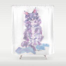Little Violette Shower Curtain