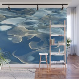 H2O # 27 Water abstract Wall Mural