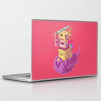 jake Laptop & iPad Skins featuring Finn and Jake by Mike Wrobel