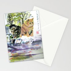 lake of desires Stationery Cards