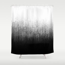 Charcoal Ombré Shower Curtain