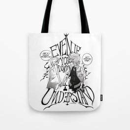 Right By Your Side Tote Bag