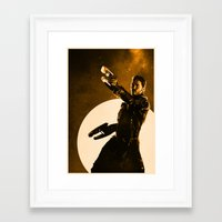starlord Framed Art Prints featuring Starlord by Anton Lundin