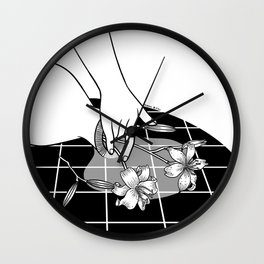 Come Out Wet Ⅱ : You ruined my vase Wall Clock