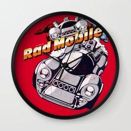 Rad Mobile Wall Clock