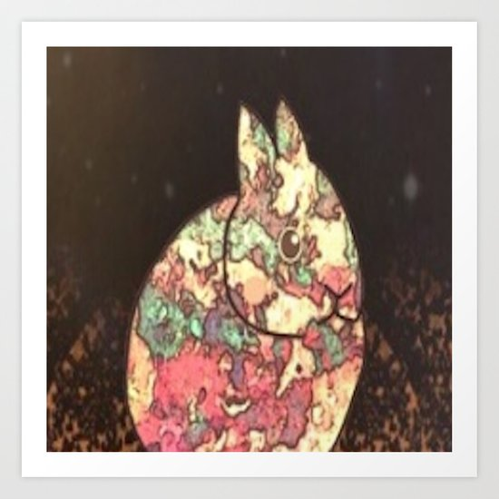 rabbit-237 Art Print