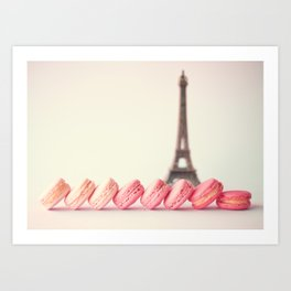 Pastel Sights Art Print