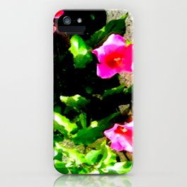 Floral Up iPhone Case