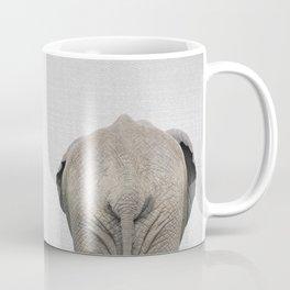 Elephant Tail - Colorful Coffee Mug