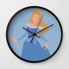 Sleeping Beauty - Blue Wall Clock
