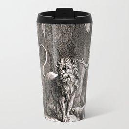 Le lion s'en allant en guerre Travel Mug