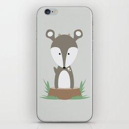 Deer on Stump iPhone Skin