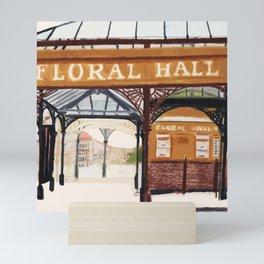 FLORAL HALL Mini Art Print