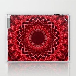 Rich mandala in red tones Laptop & iPad Skin