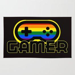 Rainbow Gamer Rug