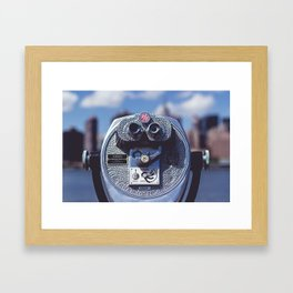 Visions of Summer Framed Art Print