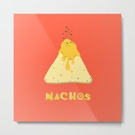 Nachos Metal Print