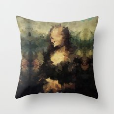 Panelscape Iconic - Mona Lisa Throw Pillow