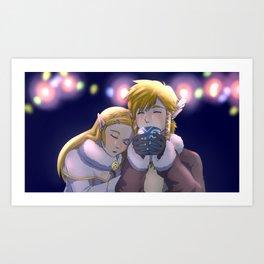 Holiday Zelink Art Print