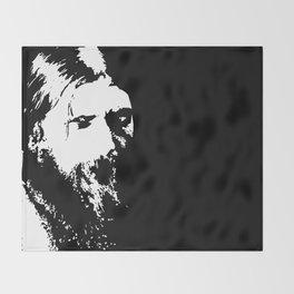 """""""rasputin"""" art by weart2 Throw Blanket"""