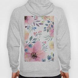 flower watercolor 1 Hoody