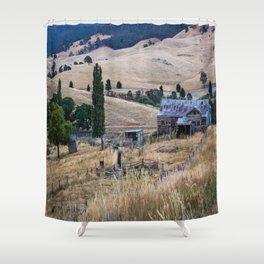 Country Farmhouse Shower Curtain