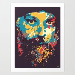 Osho Art Print