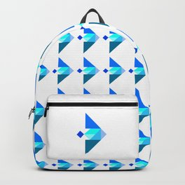 Blue Fish Backpack