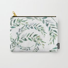 Swirling Leaves - Summer Carry-All Pouch