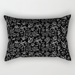 Joshua Tree Silver by CREYES Rectangular Pillow