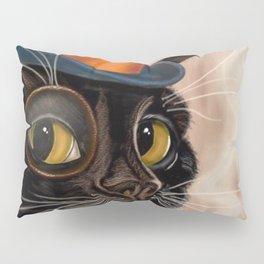 Sophisticated Cat Pillow Sham