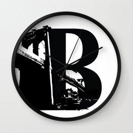 Be As In Brooklyn Wall Clock