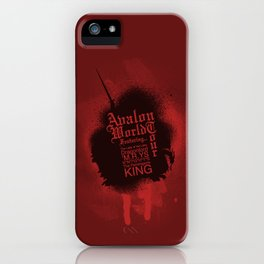 Avalon World Tour iPhone Case