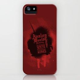 Avalon World Tour iPhone Case