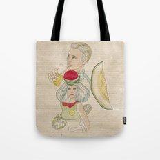 melon, watermelon and lemon Tote Bag