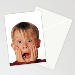Kevin home alone scream Stationery Cards