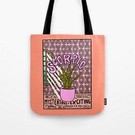 Scorpio Plant Tote Bag
