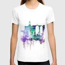 San Joce Watercolor Skyline T-shirt
