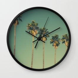 Hollywood Summer Wall Clock