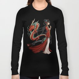 Chinese dragon pure Long Sleeve T-shirt