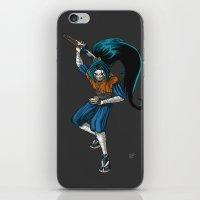 ninja iPhone & iPod Skins featuring Ninja by Mauro Squiz Daviddi
