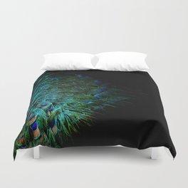 Peacock Details Duvet Cover