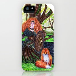 The alder tree sign iPhone Case