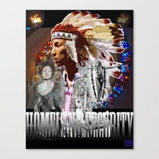 HOMELAND SECURITY Canvas Print