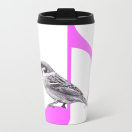 Song Bird Metal Travel Mug